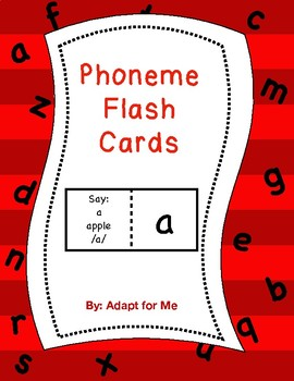 Phoneme Flash Cards