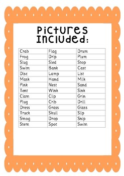 Phoneme Frames 4 Letter/Sound Words