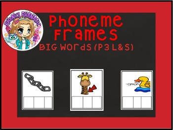 Phoneme Frames BIG Words