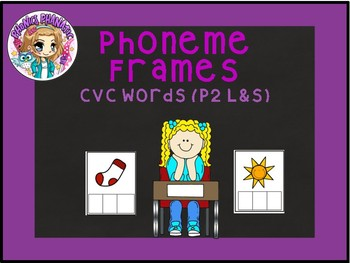 Phoneme Frames CVC Words