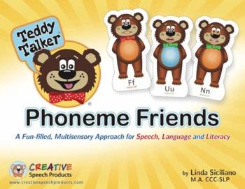 Phoneme Friends: Multisensory Approach for Speech Sounds & Literacy-Digital