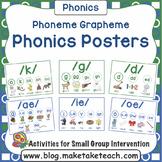 Phoneme Grapheme Classroom Posters