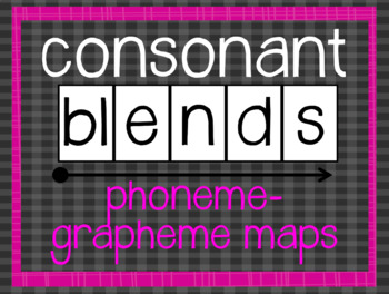 Phoneme-Grapheme Map: Consonant Blends