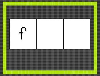 Phoneme-Grapheme Map: Two Vowels Go Walking