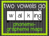 Phoneme-Grapheme Map: Two Vowels Go Walking