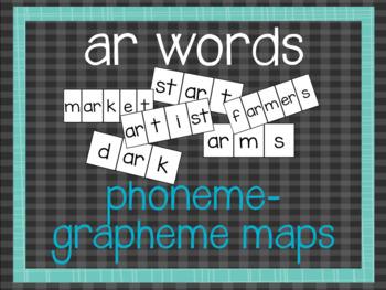 Phoneme-Grapheme Map: ar words