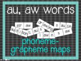 Phoneme-Grapheme Map: au, aw words