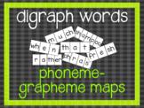 Phoneme-Grapheme Map: digraphs