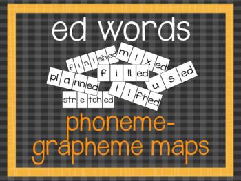 Phoneme-Grapheme Map: ed words