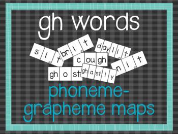 Phoneme-Grapheme Map: gh words
