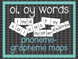 Phoneme-Grapheme Map: oi, oy words
