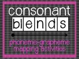 Phoneme Grapheme Mapping Activities: Consonant Blends