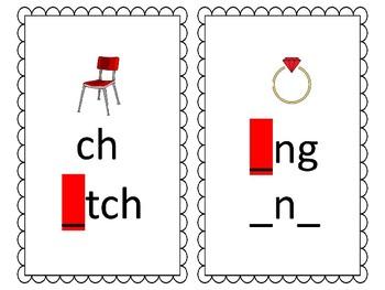 Phoneme/Grapheme Sound Spelling Cards (Black & White)