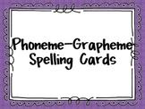 Phoneme-Grapheme Spelling Cards (Sound-Spelling)