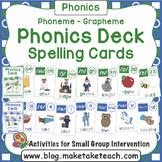 Phoneme Grapheme Spelling Deck