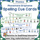 Phoneme Grapheme Spelling Strips