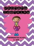 Phoneme Identity - Phonological Awareness Mini-Lesson