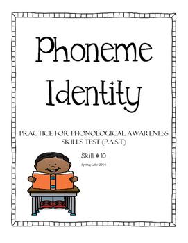 Phoneme Identity - Phonological Awareness Skills Test - #10