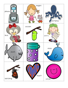 Phoneme Isolation of Initial Sounds - Phonological Awareness Skills Test #8
