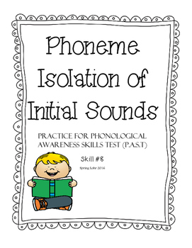 Phoneme Isolation of Initial Sounds - Phonological Awarene