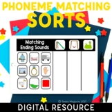 Phoneme Matching: Initial, Medial, & Final Sounds Sorts  