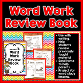 Phoneme Review Book and Anchor Charts