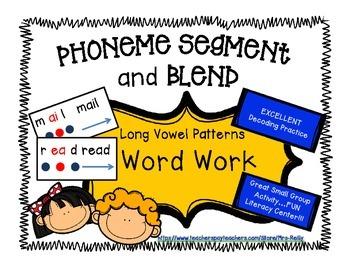 Phoneme Segment/Blend - Long Vowel Patterns