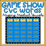 Phoneme Segmentation Activity CVC Words Game Show EDITABLE