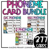 Phoneme Segmenting Cards BUNDLE   Guided Reading Activitie