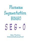 Phoneme Segmentation Bingo ~ SEG-O