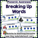Phoneme Segmentation - Breaking Up Words