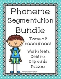 Phoneme Segmentation Bundle of Activities and Worksheets