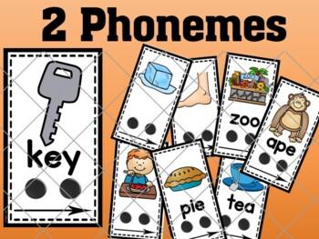 Phoneme-Segmentation Card Set