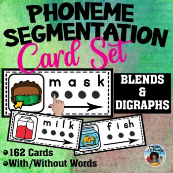 Phoneme-Segmentation Card Set ~ Blends