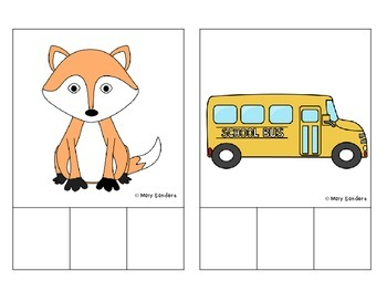 Phoneme Segmentation Cards