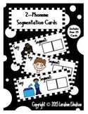 Phoneme Segmentation Cards--2 Phonemes