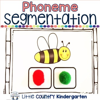 Phoneme Segmentation Activities: Cards