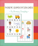 Phoneme Segmentation Cards {Pack 1}