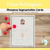 Phoneme Segmentation Cards for 3 and 4 Sound Words