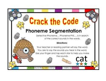 Phoneme Segmentation  Crack the Code with Phil