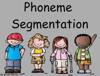 Phoneme Segmentation Flip Chart