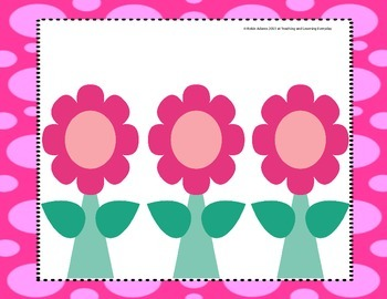 Phoneme Segmentation Flowers Bundle
