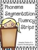 Phoneme Segmentation Fluency Strips