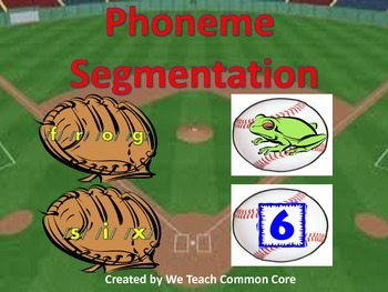 Phoneme Segmentation Literacy Station Activity Great for D