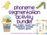 Phoneme Segmentation PSF Bundle!  3 Activities Included!