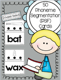 Phoneme Segmentation (PSF) task cards