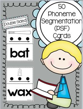 Phoneme Segmentation (PSF) task cards