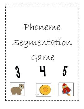 Phoneme Segmentation Sort