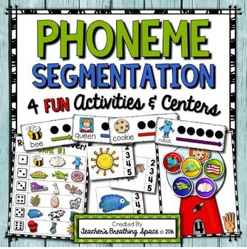Phoneme Segmentation --- Sorting, Clip Cards, Segmenting C
