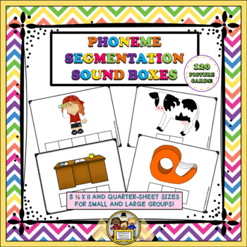 Phoneme Segmentation Sound Boxes